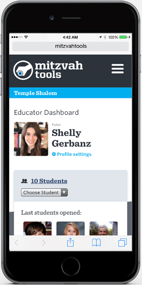 Educator Dashboard